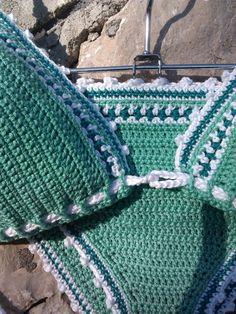 crochet bikini Rita Crochet Vintage bikini by GoodMoodCreations