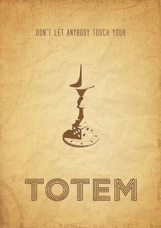 inception totem poster lorenzofresta.tumblr.com