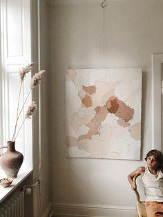 Painting Inspiration, Art Inspo, Decor Inspiration, Plaster Art, Minimalist Art, Minimalist Painting, Art Decor, Home Decor, Diy Art