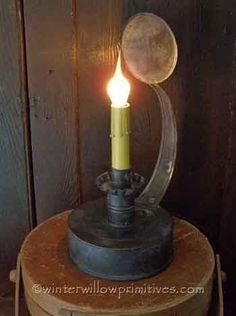 Primitive Hawthorne Lamp