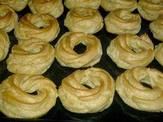moje záľuby...: Venčeky Onion Rings, Bagel, Doughnut, Low Carb, Bread, Ethnic Recipes, Nova, Blog, Brot