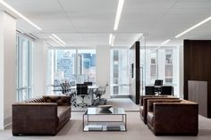 222 East Offices - New York City - Office Snapshots Law Office Design, Ceo Office, Office Lounge, Luxury Office, Modern Office Design, Office Reception, Office Interior Design, Office Interiors, Lawyer Office