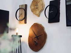 Nasz czas mierzy natura🌱 Piękne zegary od Handicraft Do You Like It, Handicraft, Clock, Interiors, Jun, Wall, Store, Instagram, Home Decor