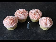 How to make Buttercream Flowers: Succulents - YouTube