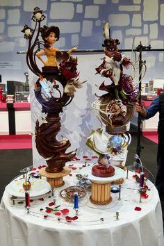 La Belle et la Bête. Coupe du Monde de pâtisserie. http://hitek.fr/42/coupe-monde-patisserie-realisations-geek_2609