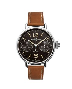 Bell & Ross 'WW1 Monopoussoir Heritage' Watch