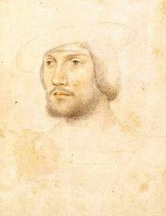 Painting, Anne de Montmorency as a young man.