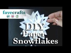 www.favecrafts.com Winter 3D-Paper-Snowflakes ml 1
