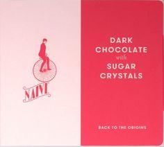 Chocolate Naive Dark Chocolate with Sugar Crystals