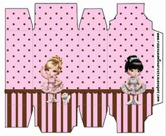 Jolie Ballerina - Complete Kit with invitation frames, labels for goodies, souvenirs and pictures!