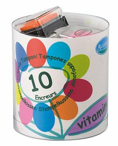 Inkpads, 10 colors by Moolka.comhttp://www.moolka.com/jzv/p/31024/Aladine/Toys/Arts+and+Crafts/Inkpads%2C+10+colors?p=YzE9MTE0Mg==  $10.09
