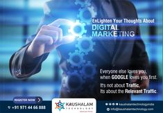 Kaushalam Technology is a Digital Branding & Communication. Digital Marketing Services, Email Marketing, Social Media Marketing, Love Yourself First, Career Opportunities, Job Opening, Everyone Else, Facebook Sign Up, Branding