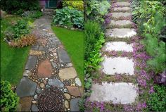 11 Photo of a garden with stones creative ideas ~ Interesting Facts
