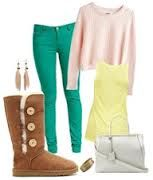 cute outfit with boots!!
