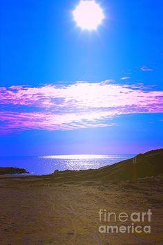 http://fineartamerica.com/featured/bibione-sunset-photos-by-zulma.html?newartwork=true #Zulma #Beach #Italy #photo #Scenery #Bibione #Ocean #sand #sky
