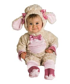 Look what I found on #zulily! Pink Lucky Lil' Lamb Dress-Up Set - Infant by Rubie's #zulilyfinds