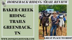If you are in SE TN you don't want to miss Baker Creek horseback riding trails! Watch the video and see a peak of the trails you could be riding! Horseback Riding Trails, Outdoor Camping, Great Places, Horses, Park, Watch, Clock, Bracelet Watch, Parks