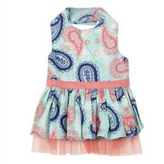 Fresh Water Paisley Dress