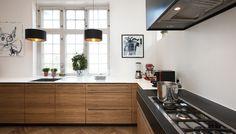 Et længeventet ønske gik i opfyldelse, da en familie fik et nyt snedkereret køkken fra snedkerværkstedet Trend-lines.