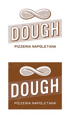 Dough logo - artisan food packaging and branding 2 Logo, Typography Logo, Logo Branding, Lettering, Corporate Branding, Brand Identity Design, Graphic Design Typography, Branding Design, Coperate Design