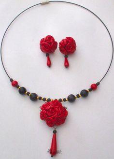 http://www.luxscorner.com/ Hand made Polymer Clay Jewelry by Laxmi Jayaraj (Lux)!!!