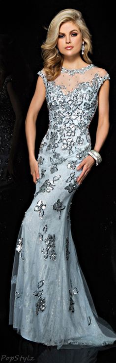 Tony Bowls Evening Gown | The House of Beccaria~