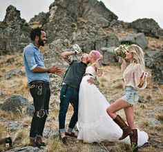 A very non wedding by Blush Photography on Rock'n'Roll Bride