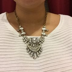J. Crew statement necklace J. Crew statement necklace. Very good condition. Attention grabbing piece J. Crew Jewelry Necklaces
