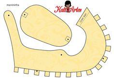 Zapatos de Bebé para Imprimir Gratis con Arabescos.