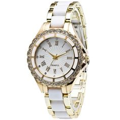 4.85$  Buy here - http://dith8.justgood.pw/go.php?t=202104401 - Rhinestone Roman Numerals Watch