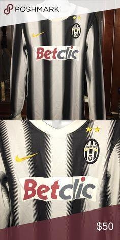 Nike JUVENTUS Soccer Jersey 💯% Authentic JUVENTUS Soccer Jersey Nike Shirts