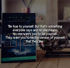 Book Quote ~ Book: The Young Elites, By Marie Lu