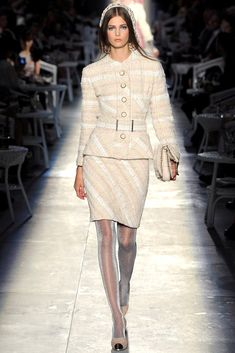 Chanel Fall 2012 Couture Fashion Show - Kendra Spears