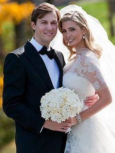 Fitting that my idol Ivanka wore my dream wedding dress...