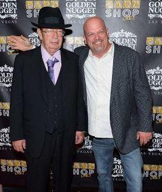 "Richard ""Old Man"" Harrison and Rick Harrison of Pawn Stars"