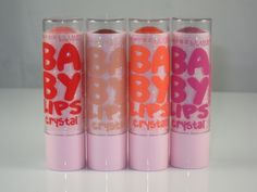 Maybelline Baby Lips Crystal Lip Balm is yet another variation on the Maybelline Baby Lips Moisturizing Lip Balm formula! The Maybelline Baby Lips Crystal Baby Lips Collection, Lip Pictures, Baby Lips Maybelline, Crystal Lips, Hydrating Lip Balm, The Beauty Department, Soft Lips, Beauty Packaging, Beauty Make Up