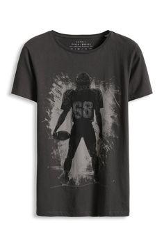 Davide Martini for Esprit - Baumwoll Jersey Print T-Shirt im Online Shop kaufen Graphics by www.hero-parasite.com