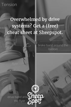 Your (free) guide to spinning wheel drive systems: double drive, Scotch tension, and Irish tension - Sheepspot Spinning Yarn, Hand Spinning, Spinning Wheels, Spin Me Right Round, Drop Spindle, Scotch, Irish, Free, Knit Crochet