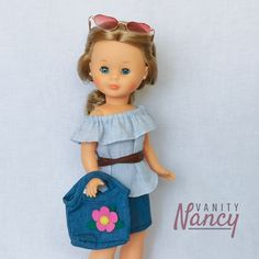 Vestidos Nancy, Pram Toys, Costura Diy, Barbie, Dolls, Holiday Decor, Classic, Templates, Nancy Doll