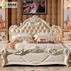 Classic Bedroom Decor French Style – What Is It Classic Bedroom Furniture, Classic Bedroom Decor, Bedroom Furniture Sets, Luxury Furniture, Furniture Design, Luxury Bedroom Design, Master Bedroom Design, Decoration Baroque, New Bed Designs
