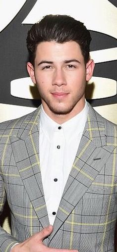 Nick Jonas Versace