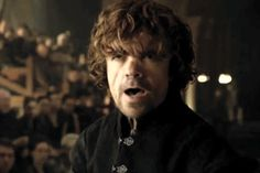 The alternate ending of Tyrion's speech in Ep6 of Game of Thrones.