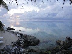 milky blues, lavenders and greys in  rangiroa, french polynesia. photo courtesy romina wo