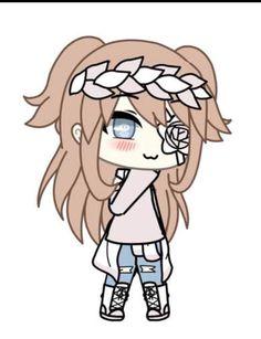 Cute Kawaii Drawings, Anime Girl Drawings, Cute Pokemon Wallpaper, Cute Cartoon Wallpapers, Anime Wolf Girl, Cute Anime Chibi, Cute Anime Character, Character Outfits, Anime Life