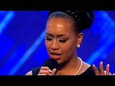 Rebecaa Ferguson is not just a pretty face, her voice touches hearts...she sings from within....