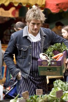 "Curtis Stone, TV personality and chef, known as ""The Quiet Terminator"", at Borough Market Chef Recipes, Food Network Recipes, Wine Recipes, Curtis Stone Recipes, Lindsay Price, Too Many Cooks, Masterchef Australia, Beautiful People, Beautiful Day"