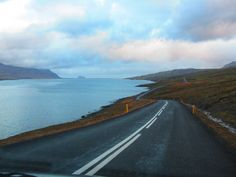 Road between Fáskrudsfjordur and Stodvarfjordur. About 20-25 minutes drive - this road is considered the most dangerous road in Iceland, it is rather narrow, a lot of bends,and small hills....