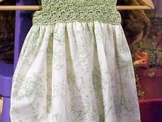 How to Crochet a Child's Dress   Easy Crafts and Homemade Decorating & Gift Ideas   HGTV