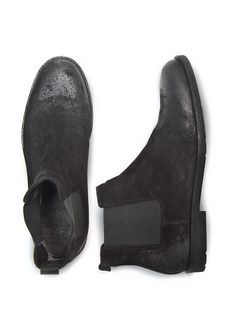 H.E. by MANGO - SUEDE CHELSEA BOOTS