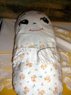 Humpty Dumpty vintage doll lovey pillow doll about 16 inches